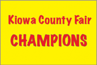 2016 Kiowa County Fair Champions