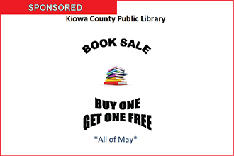 Kiowa County Public Library - Book Sale