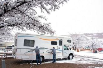 2 Top Tips for Your First Winter RV Trip