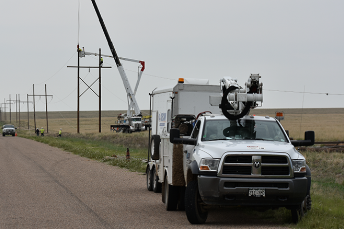 2018-07-28 PICT Power Line Repair SECOM Truck - Chris Sorensen