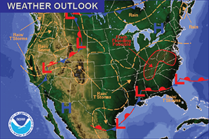 Weekend Weather Outlook - May 20, 2016