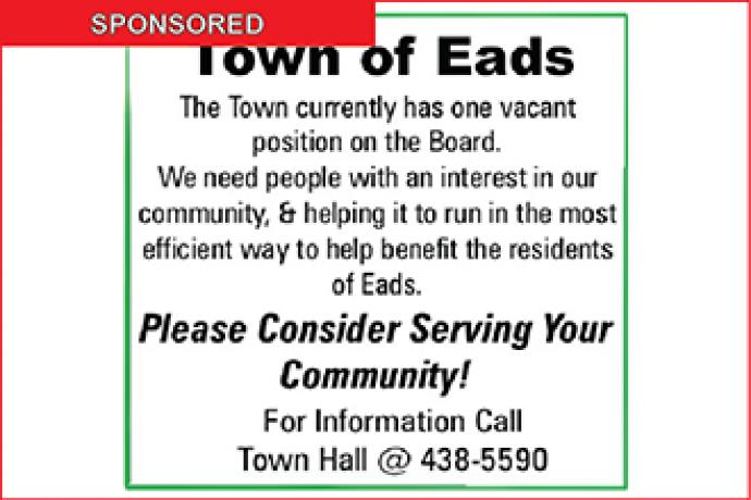 Town of Eads Seeks Trustee