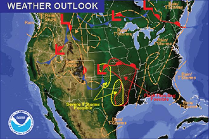 Weekend Weather Outlook - May 27, 2016