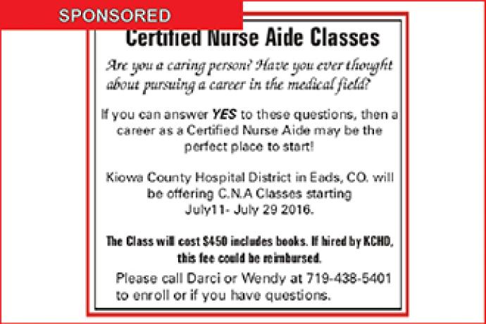 Certified Nurse Aide Classes