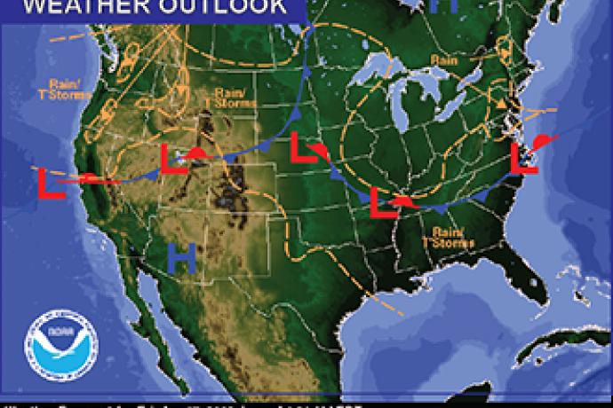 Weather Outlook - June 17, 2016