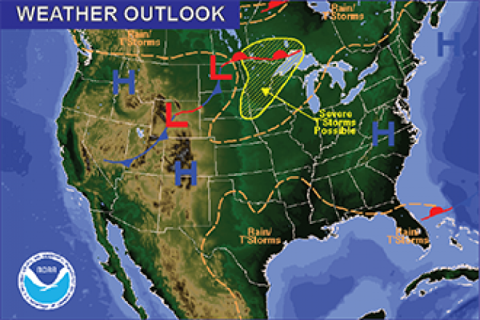 Weather Recap - June 19, 2016 Summary Image