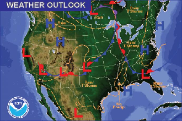 Weather Outlook - June 26, 2016