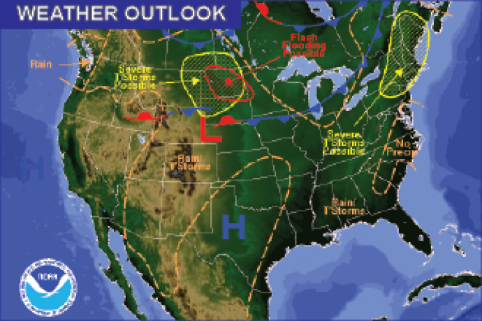 Weather Outlook - July 22, 2016