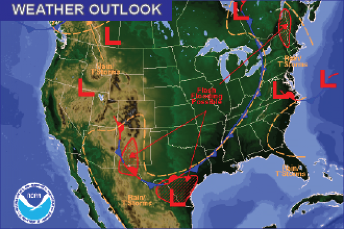 Weather Outlook - August 21, 2016