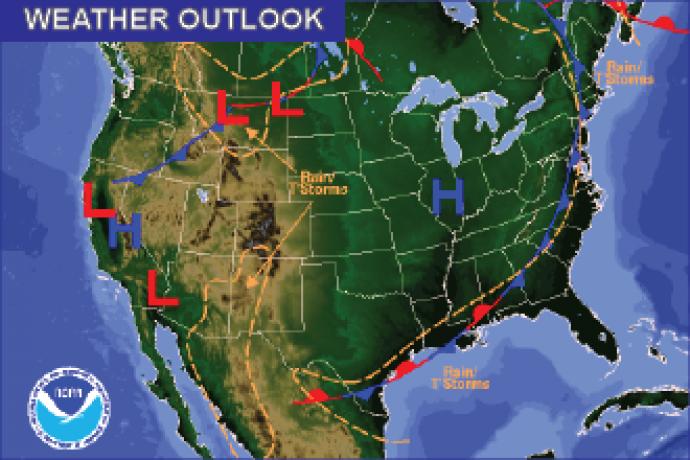 Weather Outlook - September 11, 2016