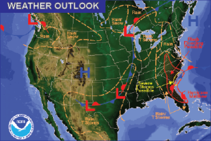 Weather Outlook - October 7, 2016