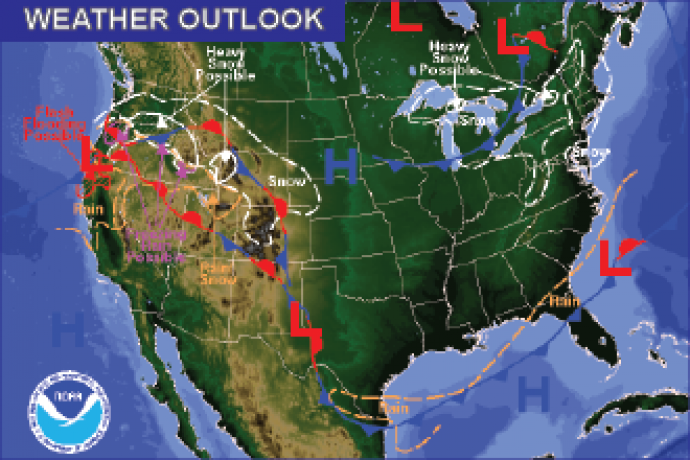 Weather Outlook - December 14, 2016