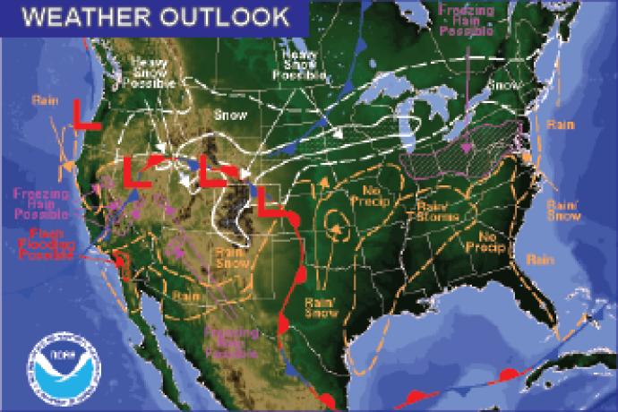 Weather Outlook - December 16, 2016