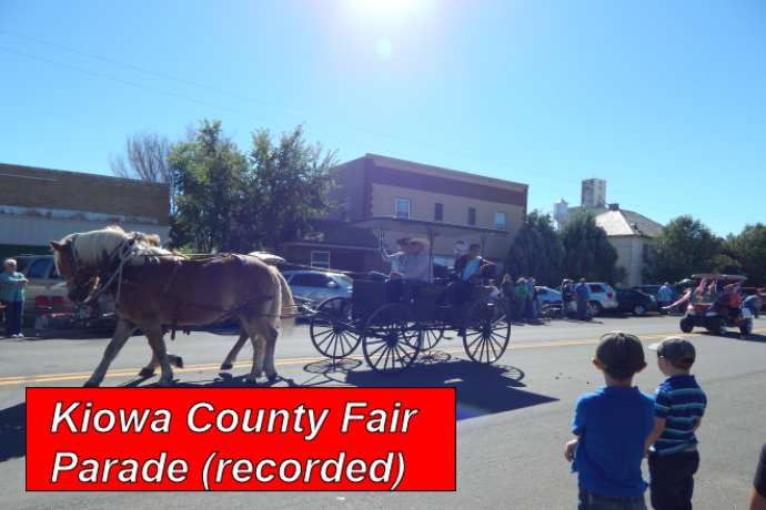 PROMO - Recorded - 2017 Kiowa County Fair Parade September 9, 2017