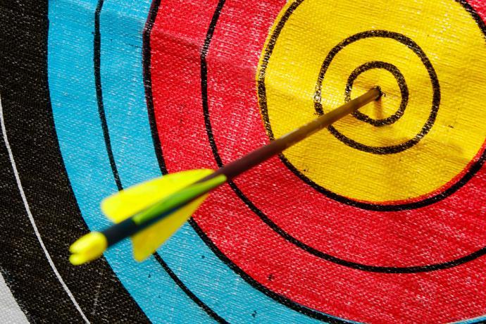 PICT LP Arrow Target Archery - Adobe Stock - Michael Flippo