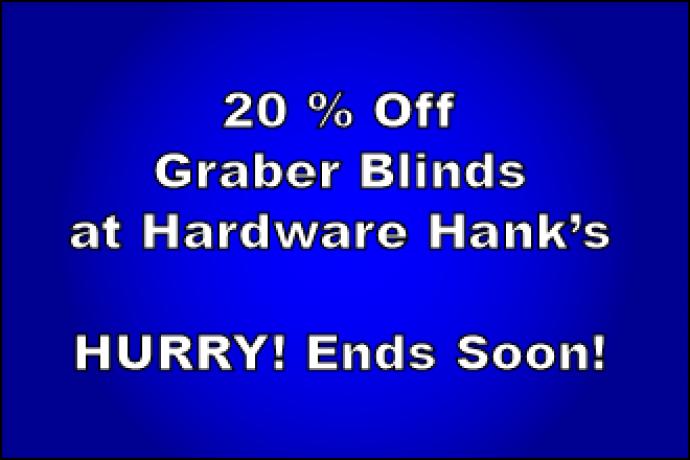 ADV - Hardware Hank's Graber Blinds 2016-02