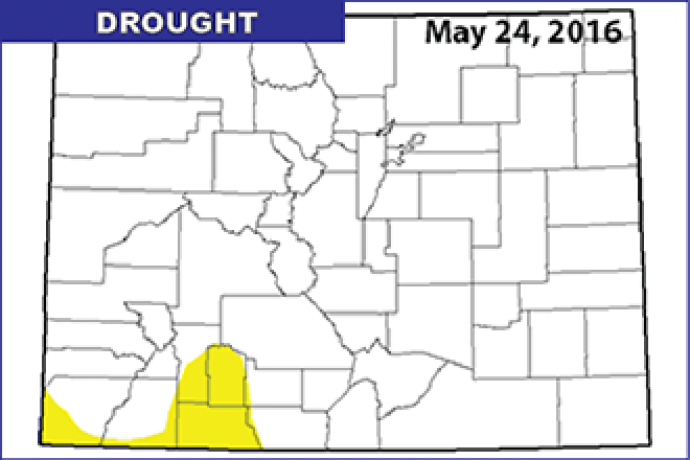 Drought Map - May 24, 2016