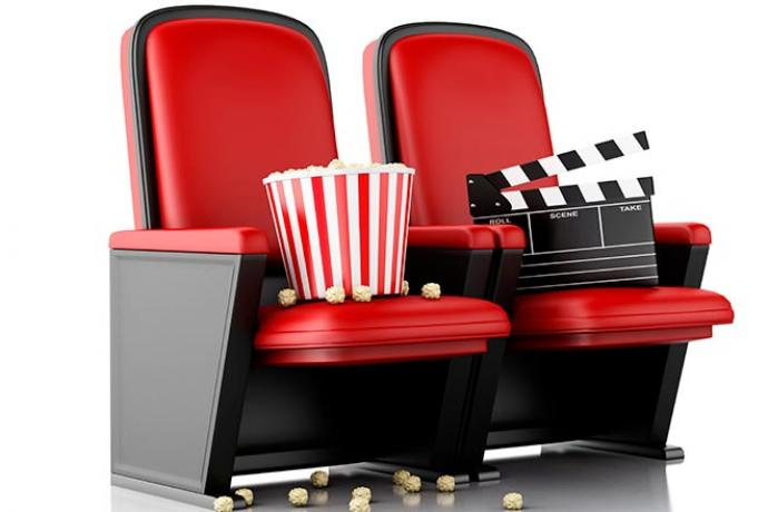 Movie - Movie Review Theater Seats Popcorn - iStock - nicomenijes