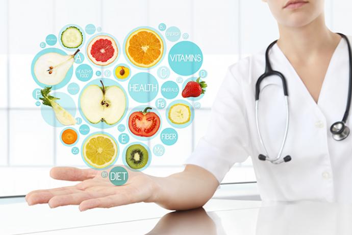 PROMO 660 x 440 Health - Diet Heart Fruit Vegetable Medical - iStock