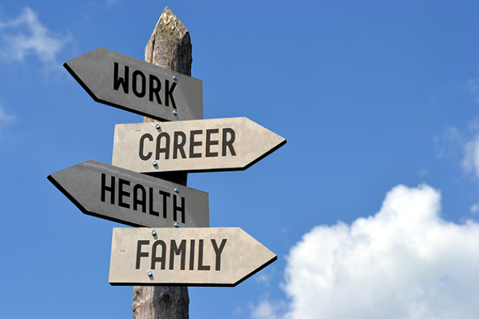 PROMO 660 x 440 Living - Sign Work Career Health Family - iStock