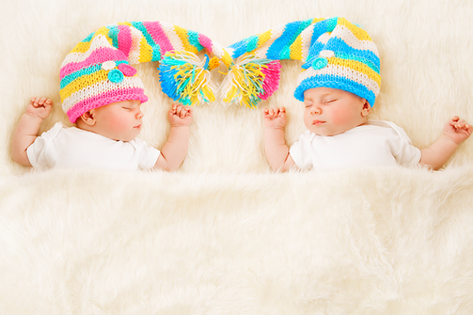 PROMO 660 x 440 People - Baby Boy Girl Shower Sleeping - iStock