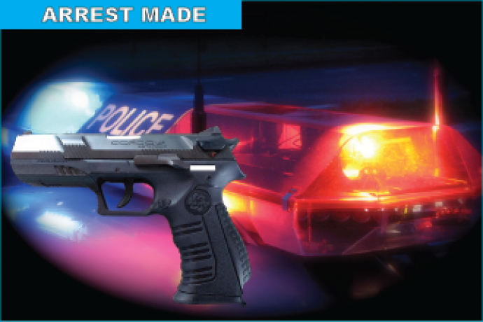 Law Enforcement - Arrest Made GUN