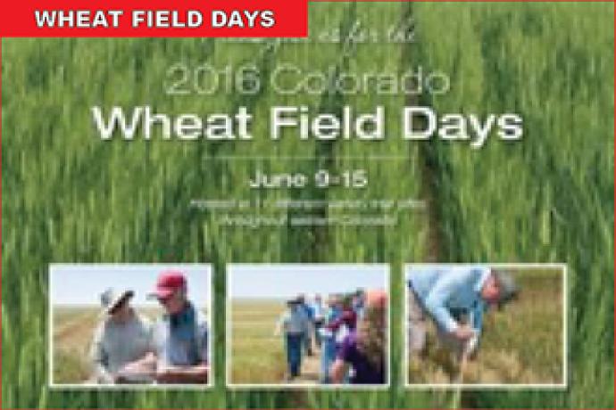 2016 Wheat Field Days Tours