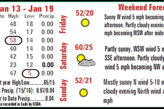 Weekly Weather Summary
