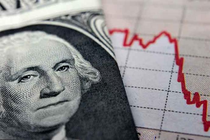 PROMO Finance - Money Dollar Chart Decline Graph- iStock - claffra