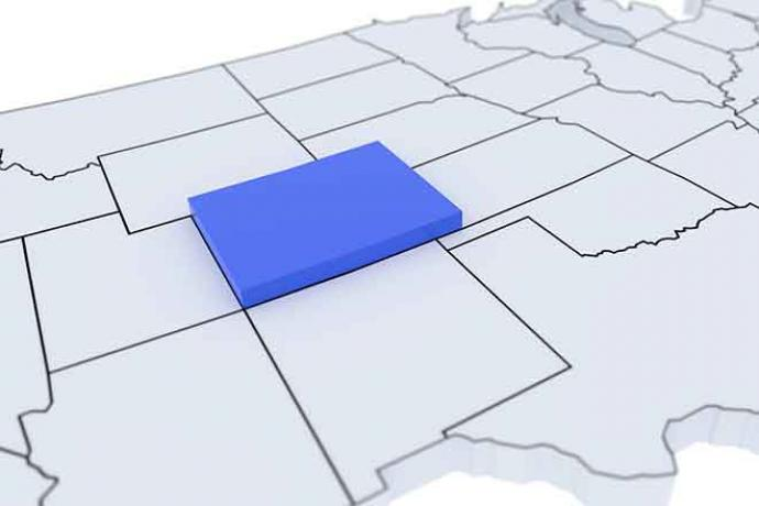PROMO Map - Colorado State 3D - iStock - JosephJacobs