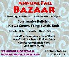 ADV - Weisbrod Annual Fall Bazaar
