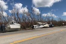 PICT Hurricane Irma boats FL Keys USFWS