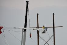 2018-07-28 PICT Power Line Repair Lineman in Bucket - Chris Sorensen