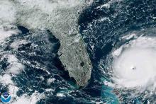 SATELLITE Geocolor view Hurricane Dorian as of September 1, 2019 - NOAA