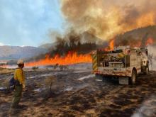 PICT Fire operations at the Pine Gulch Fire August 10, 2020
