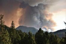 PICT Smoke from the Williams Fork Fire as seen August 22, 2020
