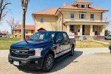 PICT 64J1 Crowley County Sheriff pickup - CCSO