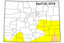 Colorado Drought Map