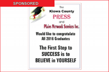Congratulations to the Plainview and Eads Graduates