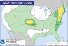 Weather Outlook - July 1, 2016