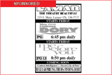 Lamar Theatre Ad - July 8, 2016