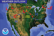 Weather Outlook - July 10, 2016