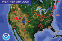 Weather Outlook - July 17, 2016