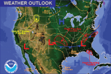 Weather Outlook - August 7, 2016