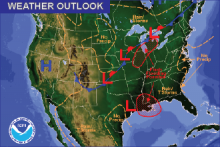 Weather Outlook - August 12, 2016