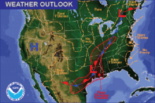 Weather Outlook - August 14, 2016