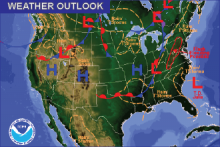 Weather Outlook - September 18, 2016