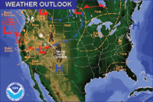 Weather Outlook - October 15, 2016