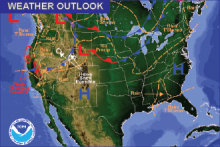 Weather Outlook - October 16, 2016