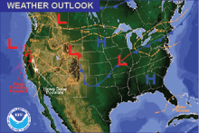 Weather Outlook - October 30, 2016